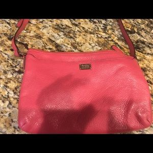 Coach crossbody bag rose pink